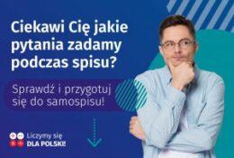 Plakat informujący NSP 2021